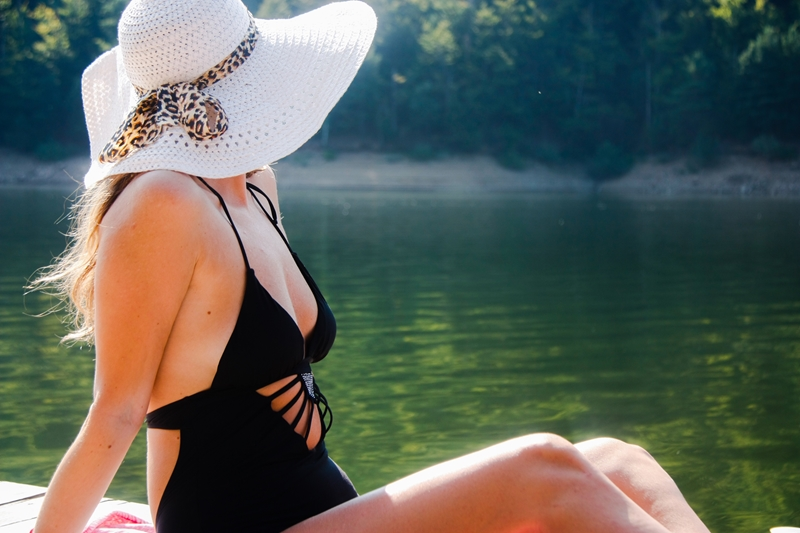 A wide-brimmed hat can limit your sun exposure.